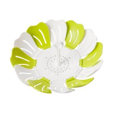 Yangunik Lipat Lotus Fruit Basket Keranjang Buah - Hijau