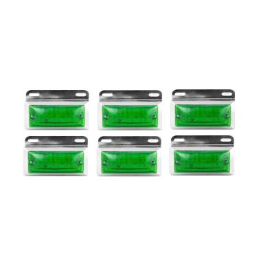 DNY 20 LED Bohlam Lampu Mobil - Hijau [6 pcs]