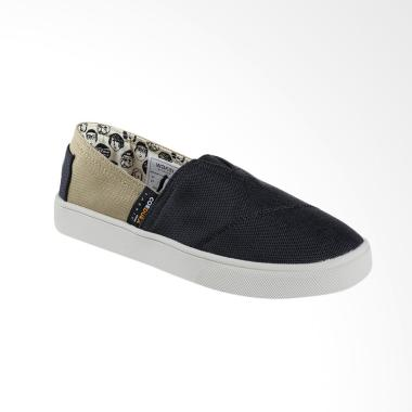 Wakai WKI-SLW11714 Cordurachuo Sepatu Unisex - Black Brown