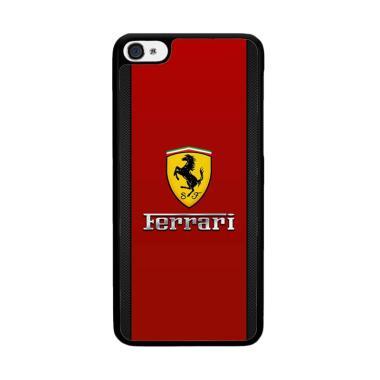Acc Hp Ferrari Chrome Logo X4203 Custom Casing for iPhone 5S or iPhone SE