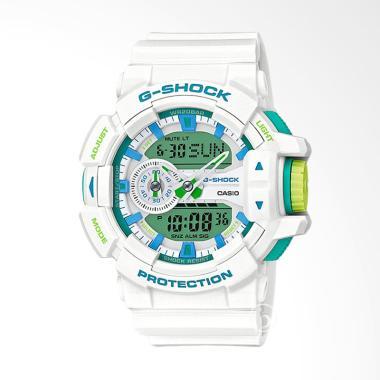 CASIO G-SHOCK Rotary Switch Ltd. Ed ... ria - White [GA-400WG-7A]