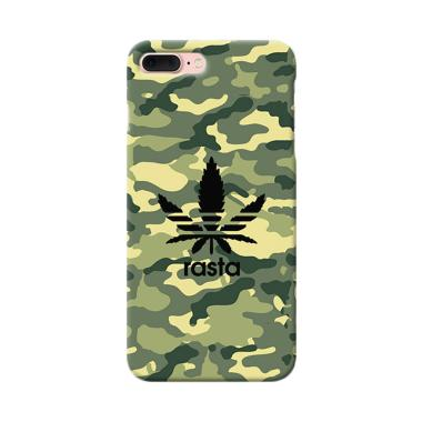 Premiumcaseid Army Camo Rasta Not A ... g for Apple iPhone 8 Plus