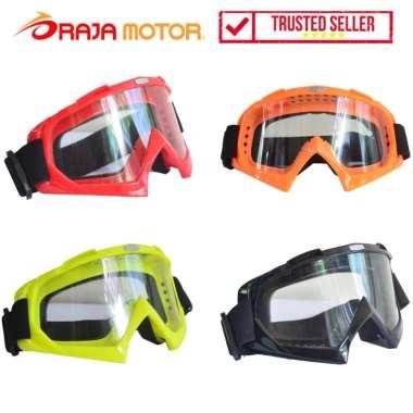 harga RajaMotor Kaca Mata (Goggle) VSL - Aksesoris Motor - Variasi Sepeda Motor Merah Blibli.com