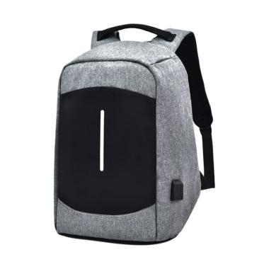 TOKUNIKU Anti Theft 920 Model 2018 USB Backpack - Grey