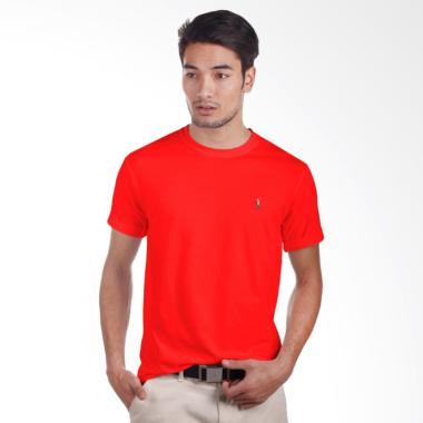 POLO RALPH LAUREN Men Classic Fit S-S T-Shirt Pria - Red [RL 2000] - PX3100003 -