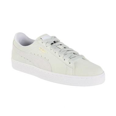PUMA Suede Classic Shoes Sepatu Olahraga Unisex - Off White  365347 09  7e055cf10a