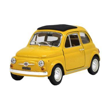 harga BBurago 18-22098 Fiat 500 Diecast - Yellow [1:24] Blibli.com