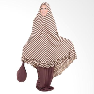 Boontie Salur  Mukena Syar'i Jumbo - Brown