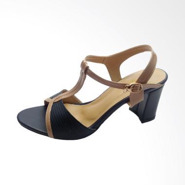 Fladeo CLDH251 High Heels Sepatu Wanita - Dark Blue