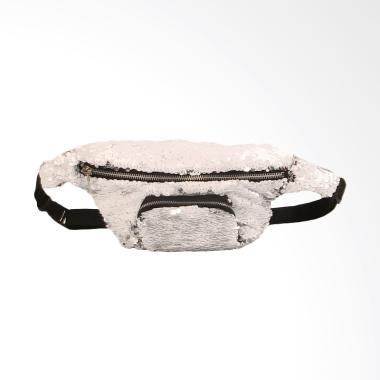 Lansdeal Unisex Outdoor Sports Casu ... s Pinggang Wanita - White