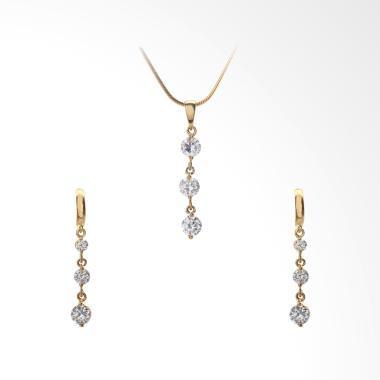 Cocoa Jewelry Love Rain Set Collection Perhiasan