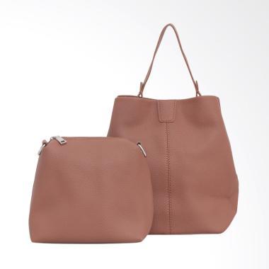 Lorica by Elizabeth Tilda Sling Bag Wanita - Coklat