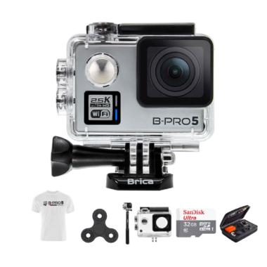 Brica B-PRO 5 Alpha Plus 2 Combo At ... in White T-shirt - Silver