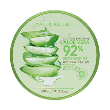 Nature Republic Aloe Vera Soothing Gel Body Lotion [300 mL]