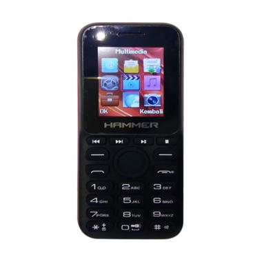 Advan R1s Hammer Handphone - Black Red [Dual Sim]
