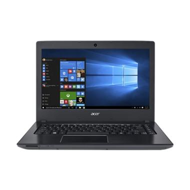 Acer E5-475G-3400 Laptop - Black [14/i3-6006/4GB/1TB/GT940MX 2GB/W10]