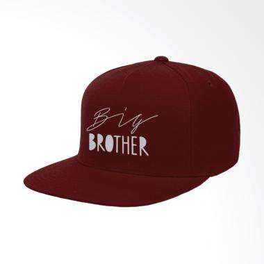 IndoClothing Big Brother Topi Snapback - Maroon