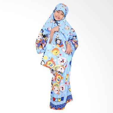 Zahra Kids Tsum-Tsum Mukena Anak - Blue