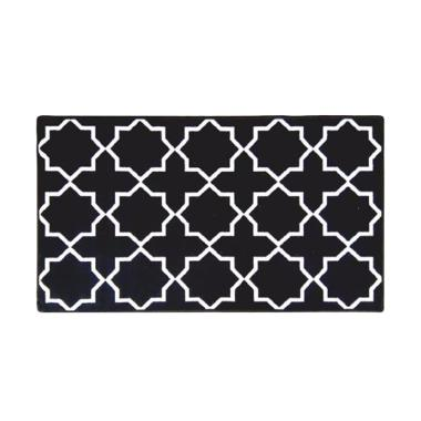 Classic Carpets Sweden Anti Slip Karpet - Black [80 x 150 cm]