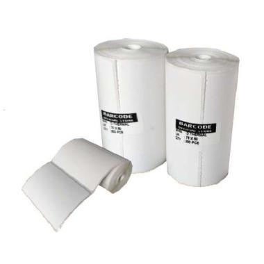 harga LABEL THERMAL 76 X 50 - 76X50 MM ( 1 LINE ) ISI 200 PCS - POS PRINTER putih Blibli.com
