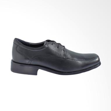 Gino Mariani Darren 3 Exclusive Cow Leather Formal Men's Shoes - Black