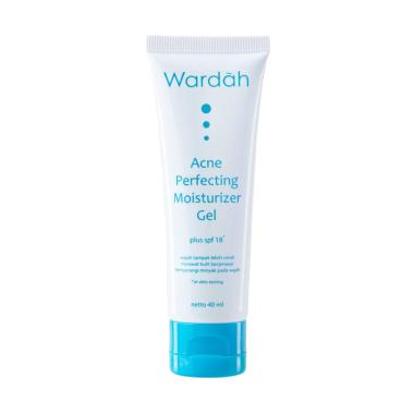 Wardah Acne Perfecting Moisturizer Gel SPF 18 Pelembab Wajah [40 mL]