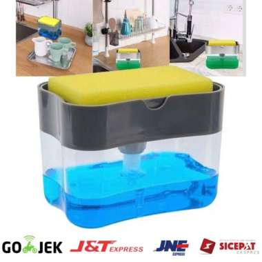 harga Dijual Soap Pump Hd917 Holder Spons Dispenser Sabun untuk Peralatan Dapur Limited Blibli.com
