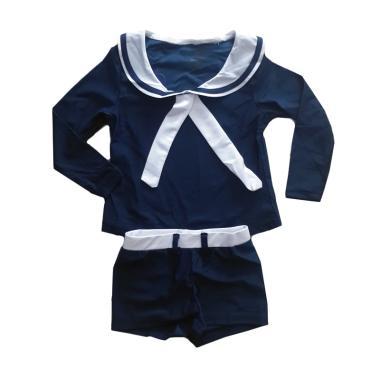 Luvkidz Sailor Baju Renang Anak - Navy