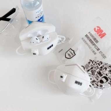 harga Case Airpods 1 2 PRO Edisi Masker N95 Silicone Rubber Case - Airpods 1 2 Blibli.com