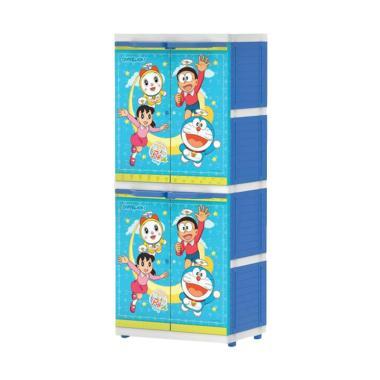Naiba MSC Doraemon Printing Lemari Pakaian Anak