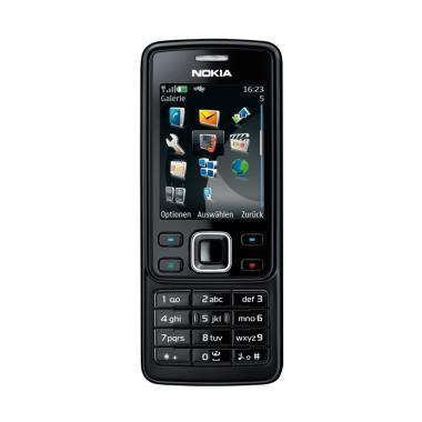 Nokia 6300 Handphone - Black Edition [Refurbish]