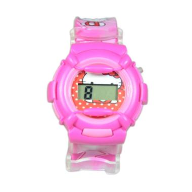 Hello Kitty DnB COLLECTION Sporty Baby-G Jam Tangan Anak - Dark Pink
