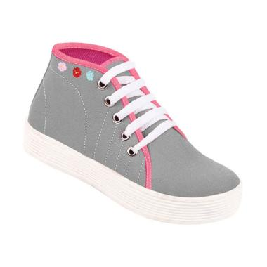 Zeintin ZSAP22 Sepatu Anak Perempuan - Abu-abu