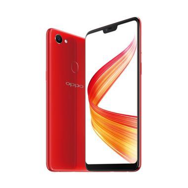OPPO F7 Smartphone - Red [64 GB/ 4 GB]