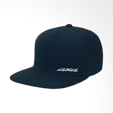 IndoClothing 4x4 Topi Snapback Pria - Navy