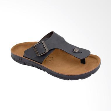 Bata Energyzer Sandal Pria - Hitam [8736077]