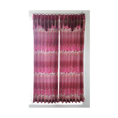 KONG Curtains BO Plit J5 Gorden - M ... 100 x 220 cm/ Tanpa Tali]