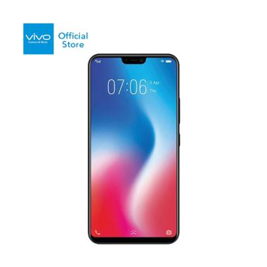 VIVO V9 Smartphone - Black [64GB/ 4GB]