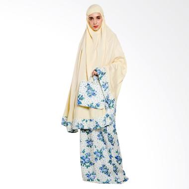 Ayda MM Jumbo Mukena - Plain Dusty Yellow