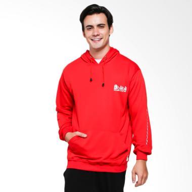Bio Merchandise 2018 Hoodie Jacket Pria - Red
