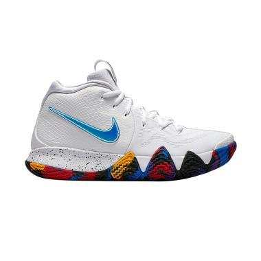NIKE Kyrie 4 Sepatu Basket Pria - White