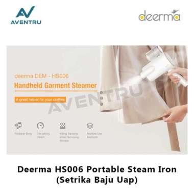 harga Unik Deerma HS006 Setrika Baju Uap Portable Electric Steam Iron Berkualitas Blibli.com
