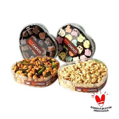 YMChoco Paket 2 Cemilan Idul Fitri Makanan Kering