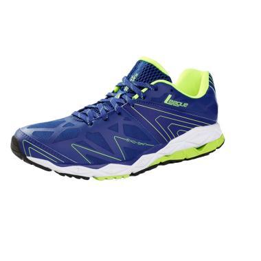 League Ghost Runner M Sepatu Lari Pria - Blue Green