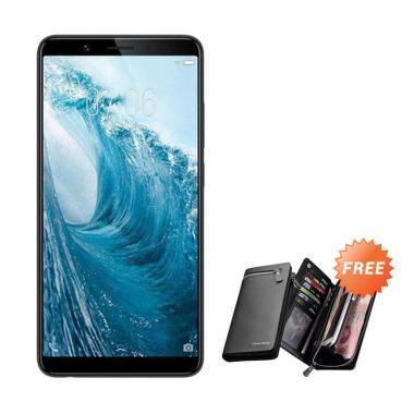 VIVO Y71 Smartphone - Black [16 GB/ 2 GB] + Free Dompet