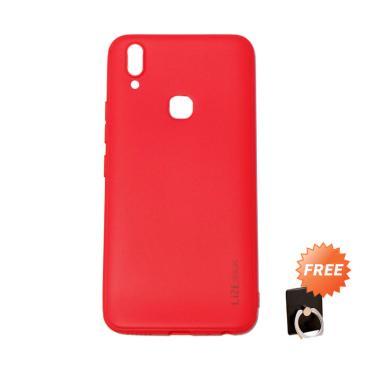 Lize Slim Case Vivo V9 Softcase Viv ...  Holder Ring Stand Random