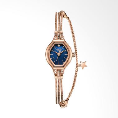 Julius JA-1057-D Jam Tangan Wanita - Rose Gold Blue