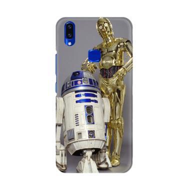 Flazzstore Star Wars C-3Po & R2-D2 X4893 Premium Casing for Vivo V9