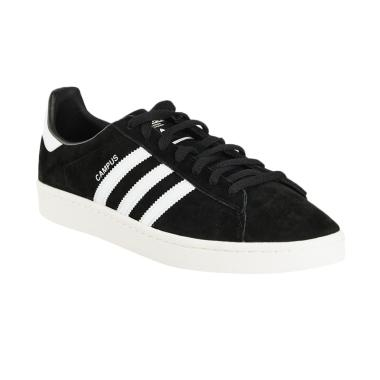 adidas Originals Men Campus Shoes S ... ia - Black White [BZ0084]