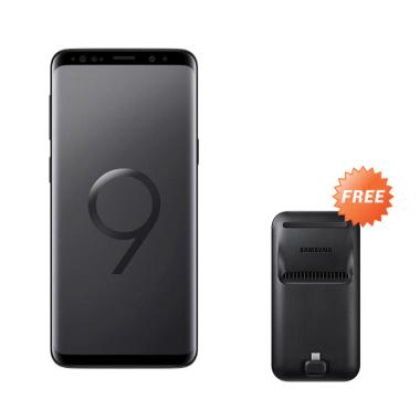 Samsung Galaxy S9+ Smartphone - Mid ... B] + Free Samsung DeX Pad